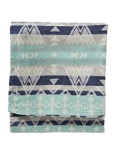 High Peaks Jacquard Cotton Blanket