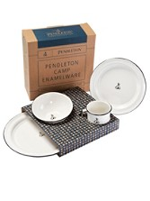 Pendleton Camp Dinner Set