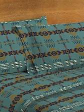 Rancho Arroyo Flannel Sheet Set