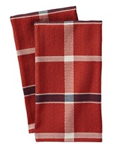 Plaid Dish Towels, Set Of 2