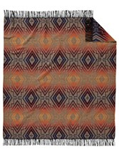 Sunset Cross Chimayo Throw