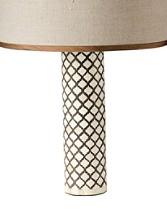 Mughal Bone Table Lamp Base