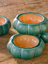 Pumpkin Soup Bowls, Set Of 4