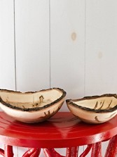 Bark-edged Ambrosia Maple Bowls