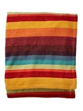 Montego Stripe Chenille Blanket
