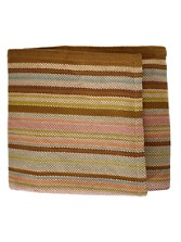 Zanzibar Cotton Ticking Blanket