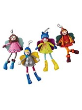 Danish Fairies Ornaments, Set Of 4