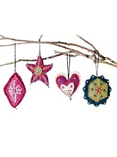 Christmas Ornaments, Set Of 4