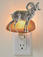 Ram And Agate Nightlight
