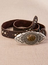 Medallion Buckle Belt