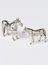 Mare And Colt Salt And Pepper Shakers