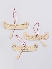 Canoe Oranaments