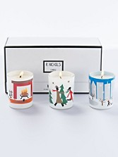 Holiday Scented Votive Trio