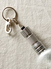 Key Chain With Waterproof Flashlight