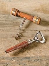 Spool Corkscrew And Bottle Opener