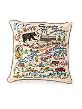 Great Smoky Mountains Pillow