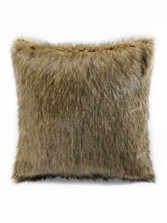 Faux Coyote Fur Euro Sham
