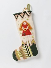 Felt Angel Stocking