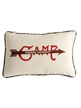 Camp Roosevelt Pillow