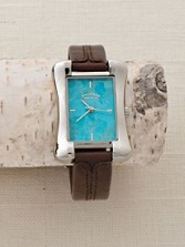 Turquoise Tank Watch