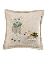 Little Treasures Lamb Pillow