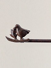 Bird On A Branch Blanket Hanger
