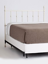 Ashton Iron Bed - Headboard And Rails