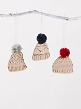 Winter Hat Ornaments