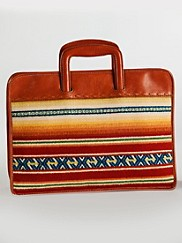 Casa Grande Stripe Laptop Folio