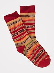 Casa Grande Stripe Crew Socks