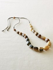 Horn Bead Necklace