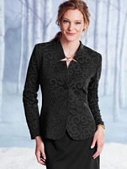 Peplum Panel Jacket