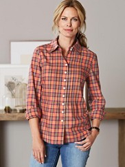 Spice Plaid Shirt