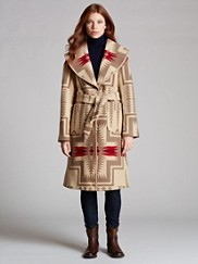 Pendleton Signature Shawl Blanket Coat