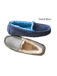 Ashley Plush Suede Slippers