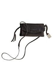 Leather Jenny Crossbody Clutch