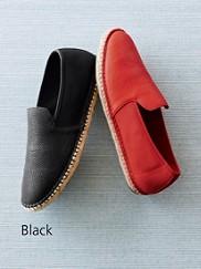 Flit Leather Espadrilles