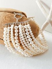 10-strand Pearl Bracelet