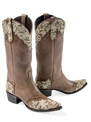 Jeni Lace Boots