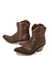Damask Pattern Boots