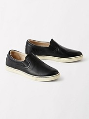 Leather Slip-on Fierce Sneakers