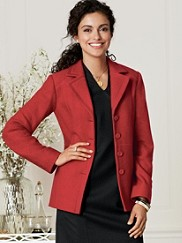 Jane Boiled Wool Jacket