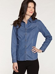 Fitted Denim Day Shirt