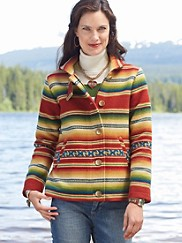 Sierra Stripe Coat