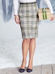 Pine Valley Plaid Skirt