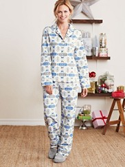 Chief Joseph Flannel Pajamas