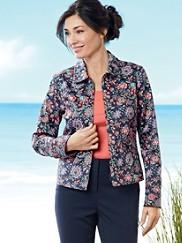 Hoyt Floral Jacket
