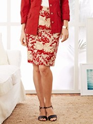 Floral Cassie Skirt