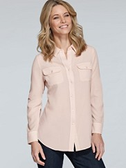 Double-pocket Blouse