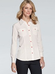 Tippi Mini Dot Print Blouse